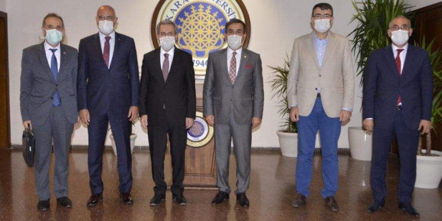 Ankara Üniversitesi Rektörünü Ziyaret Ettik