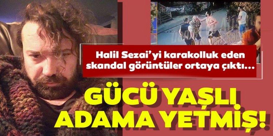"""Halil Sezai yaşlı adama tekme tokat saldırdı!... """"Ezan mı okuyorsun lan sen"""""""