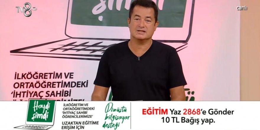 Acun Ilıcalı'nın kampanyasına ünlü isimler destek verdi