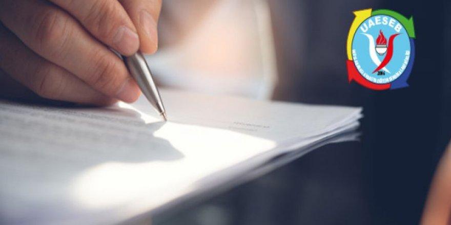 Uluslararası Avrasya Eğitim Sendikaları Birliği'den Sayın Aliyev'e Destek Mektubu