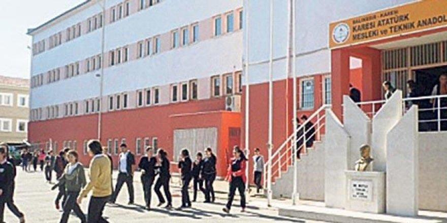 Meslek lisesinde 'e-okul' skandalı