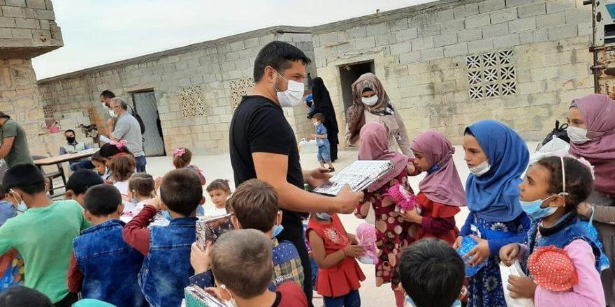 Eğitim Bir-Sen Suriyeli yetimleri unutmadı