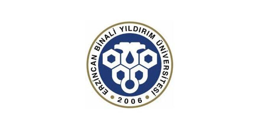 Erzincan Binali Yıldırım Üniversitesi Öğretim Üyesi Alım İlanı