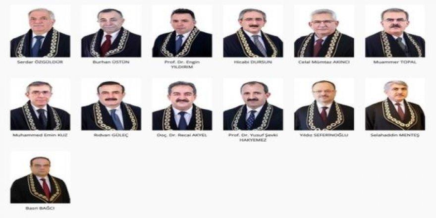 AYM'de hukuk kariyeri olmayan tek üye