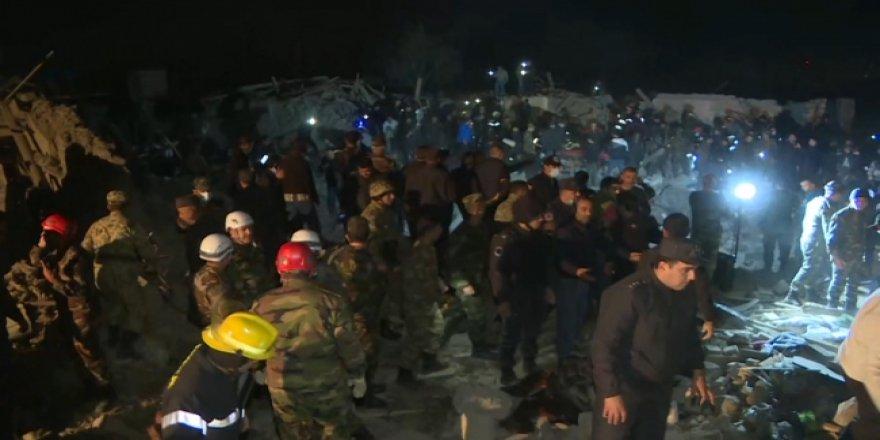 Ermenistan, füzelerle Gence ve Mingeçevir'e saldırdı: Çok sayıda ölü var