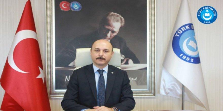 """Türk Eğitim Sen:""""Öğretmenlerin Haftada Bir Gün Okula Gitmesi Ertelenmelidir"""""""