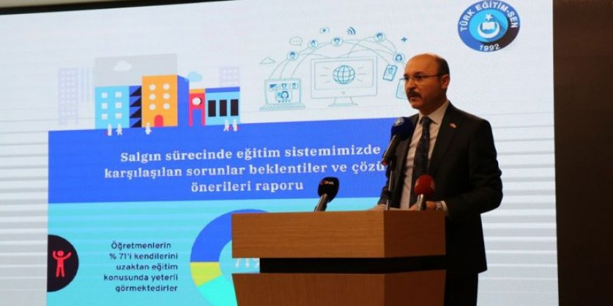 Salgın Sürecinde Eğitim Sisteminde Karşılaşılan Sorunlar ve Beklentiler Anketi sonuçları açıklandı