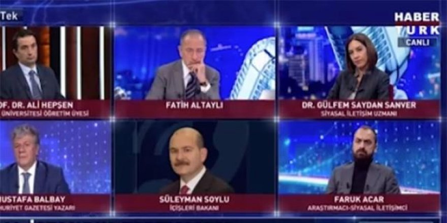 Süleyman Soylu: İmamoğlu talimatını bizzat ben verdim