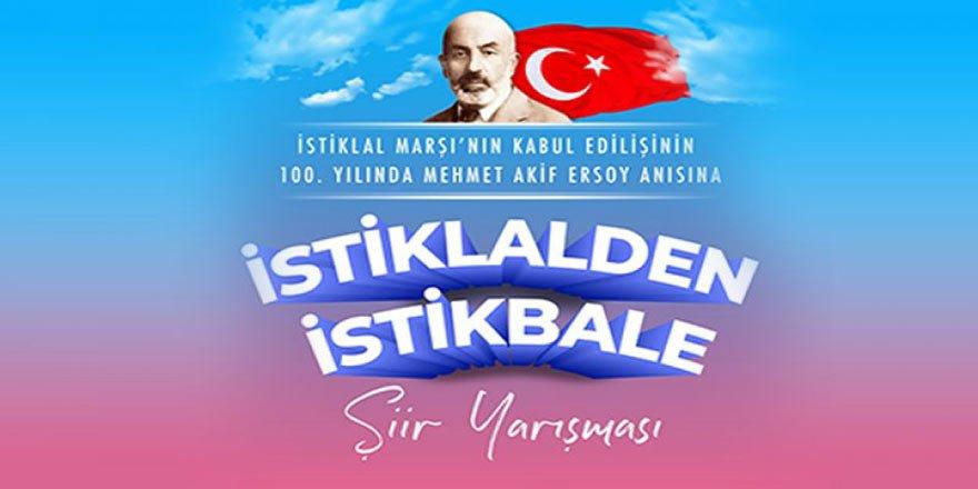"""100. Yılında Mehmet Akif Ersoy Anısına """"İstiklalden İstikbale"""" Şiir Yarışması"""