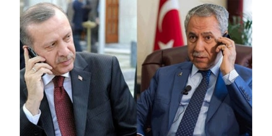Arınç'la Erdoğan'ın istifa konuşması! Sabırla dinledi sonra...