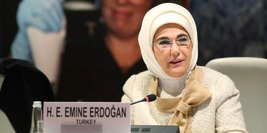 Emine Erdoğan: Katiller, mafya babaları, zorbalar rol model gibi lanse edilmesin