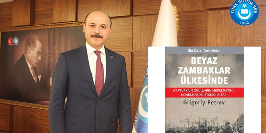 """Talip Geylan'dan Bakan Ziya Selçuk'a """"Beyaz Zambaklar Ülkesinde"""" Desteği!"""