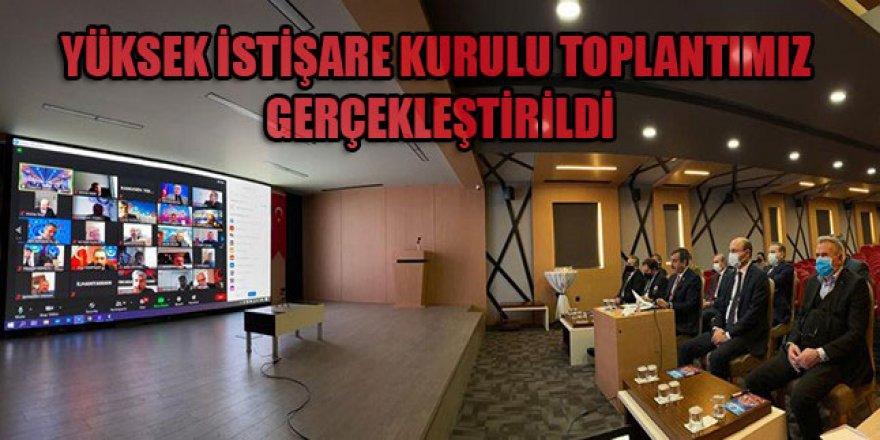 Türkiye Kamu-Sen Yüksek İstişare Kurulu Toplantısı Yapıldı