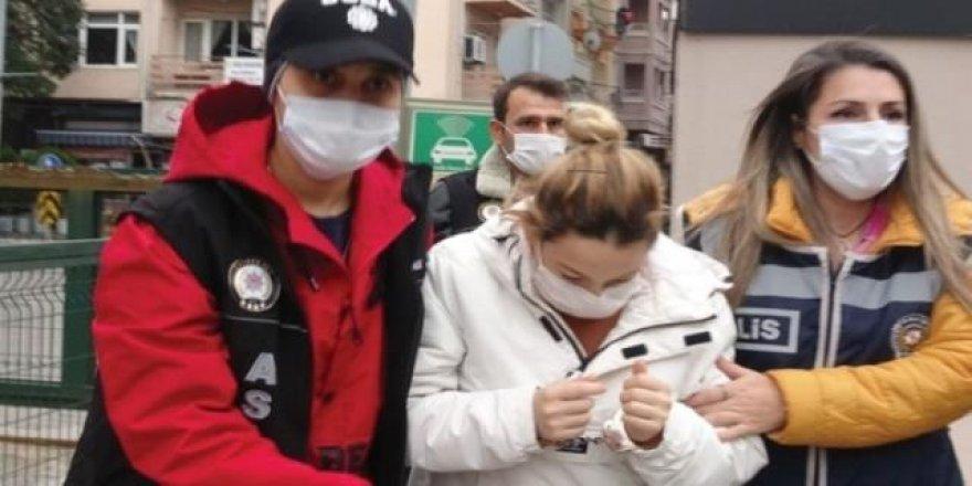 Yeni doğan bebeğini çöpe atarak ölüme terk eden anne tutuklandı