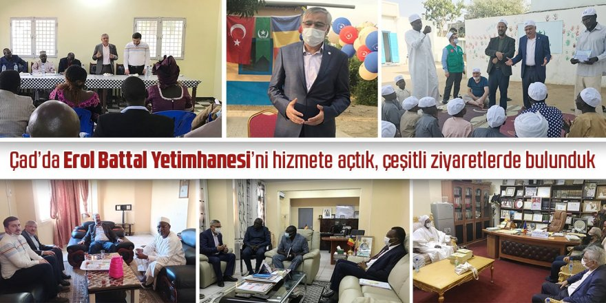 Eğitim-Bir-Sen, Çad'da Erol Battal Yetimhanesi'ni hizmete açtı