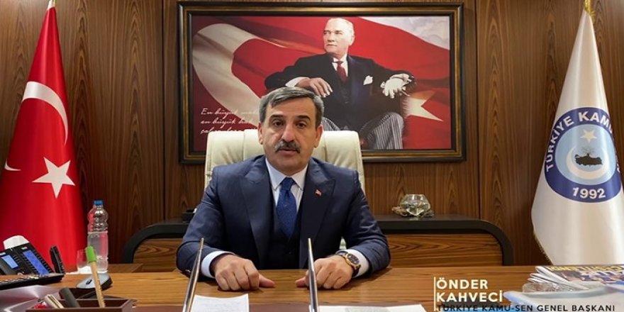 Önder Kahveci'den Yeni Yıl Mesajı