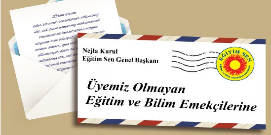 Genel Başkan Nejla Kurul'dan Eğitim ve Bilim Emekçilerine Mektup