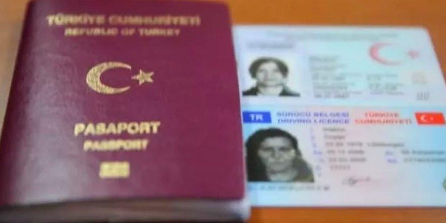 2021 yılı değerli kâğıt bedelleri açıklandı; pasaport, kimlik kartları, sürücü belgeleri ne kadar olacak?