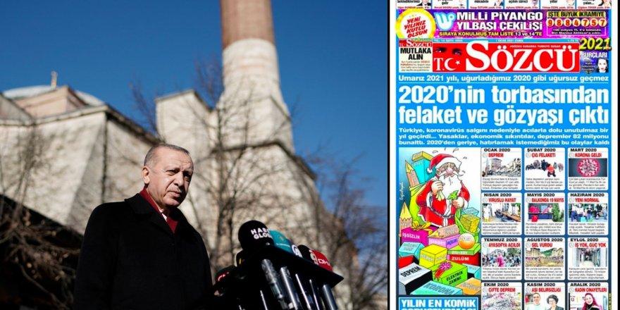 Erdoğan: Sözcü gazetesini okumuyorum, kimse de para verip almasın