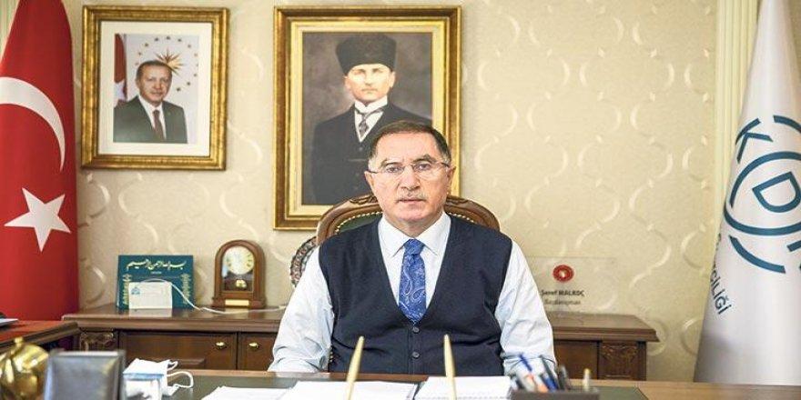 KDK Başkanı Şeref Malkoç: Vatandaş hakkını sanal ortamda da aradı