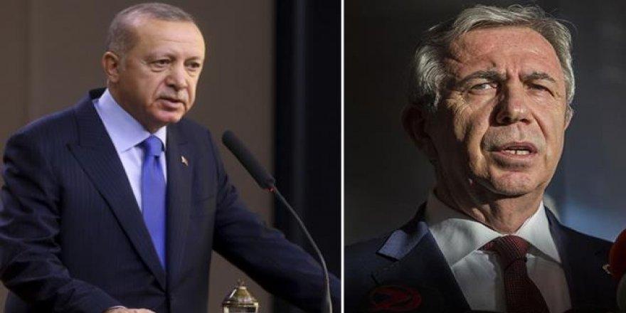 Cumhurbaşkanlığı anketi: Erdoğan'ın oyu yüzde 40.7, Mansur Yavaş'ın oyu yüzde 43.9