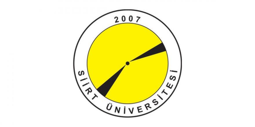 Siirt Üniversitesi öğretim üyesi alım ilanı