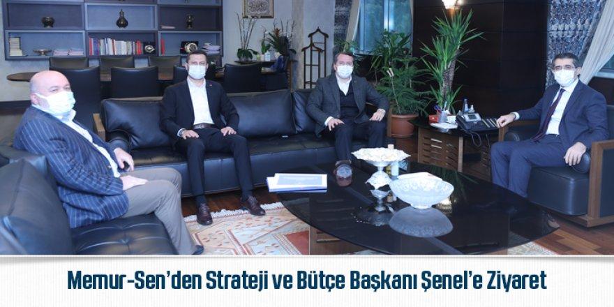 Memur-Sen'den Strateji ve Bütçe Başkanı Şenel'e Ziyaret