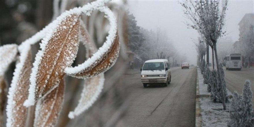 Meteorolojiden kuvvetli buzlanma ve don uyarısı