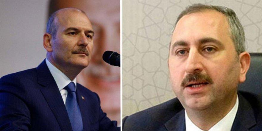 Adalet Bakanı Gül'e Soylu'nun açıklaması soruldu