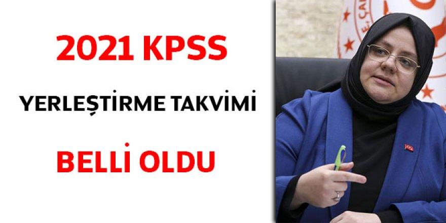 2021 KPSS yerleştirme takvimi belli oldu