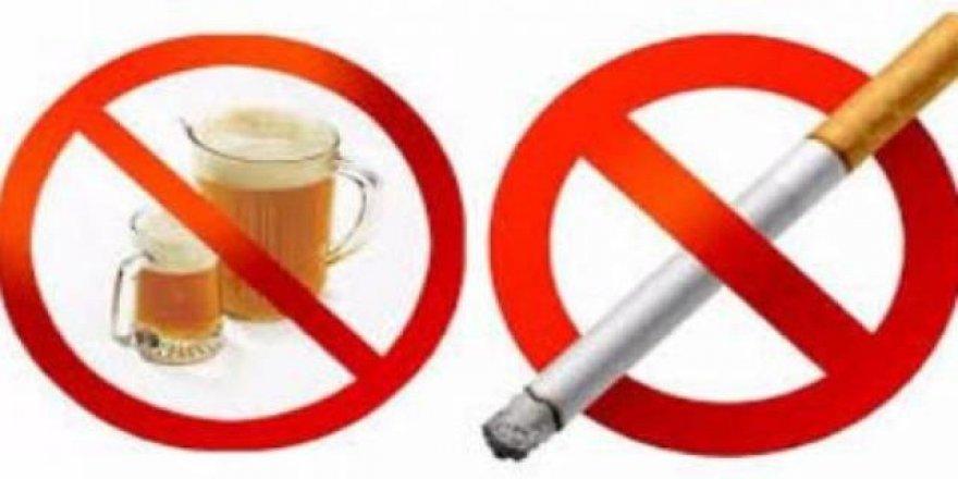 Sigara ve alkolde yeni yasaklar geliyor