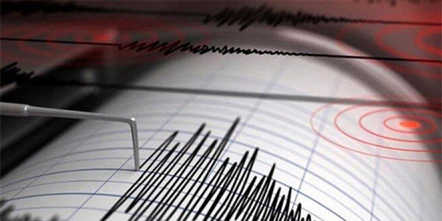 Datça açıklarında 5,1 büyüklüğünde deprem