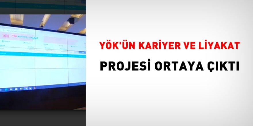 YÖK'ün kariyer ve liyakat projesi ortaya çıktı