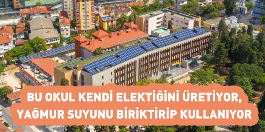 Bu okul çok akıllı! Kendi Elektriğini Üretiyor, Yağmur Suyu Depoluyor...
