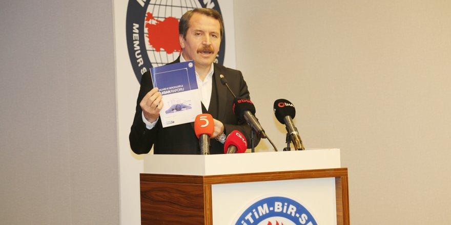 Ali Yalçın İLKSAN Raporunu Açıkladı: Mevcut statükoyu ve yönetim tarzını kabul etmiyoruz