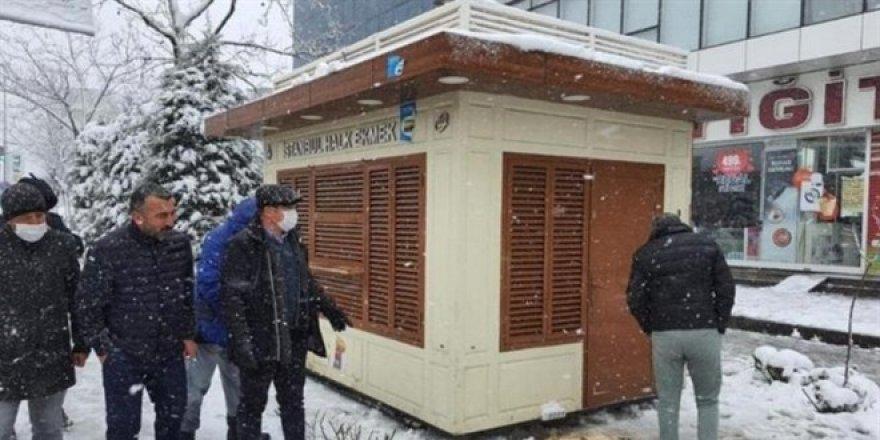 Okul müdürü İBB büfesinin kaldırılması için başvuru yaptı