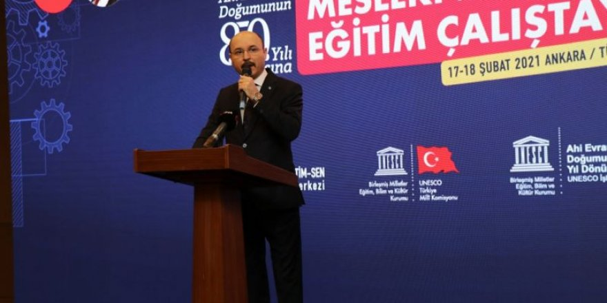 """Türk Eğitim-Sen'den """"2023'e Doğru Mesleki ve Teknik Eğitim Çalıştayı"""""""