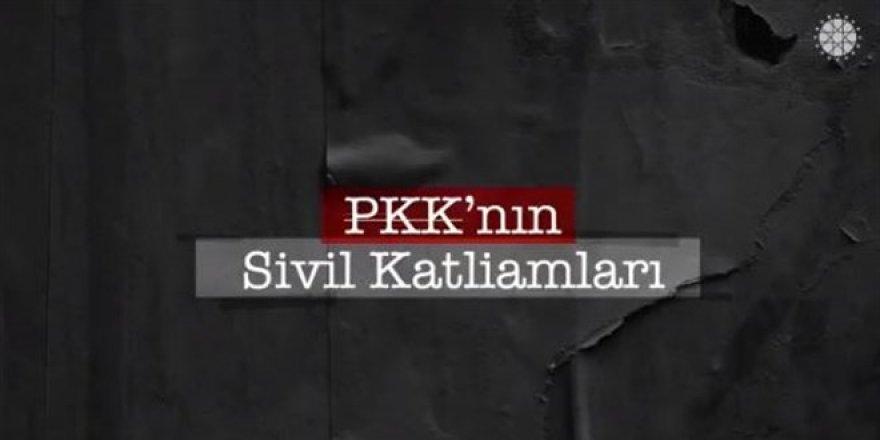 Fahrettin Altun, PKK'nın sivil katliamlarına yönelik video paylaştı