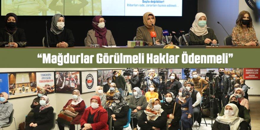 Memur-Sen Kadınlar Komisyonu'ndan 81 İlde Eş Zamanlı Açıklama