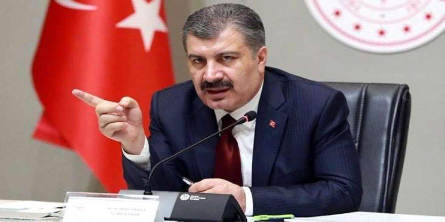 Sağlık Bakanı Koca vaka sayısı artan ve azalan illeri açıkladı