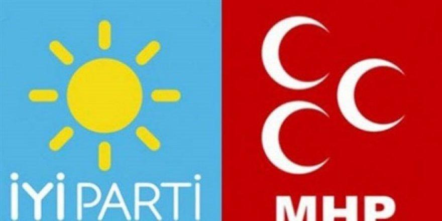 Twitter'da iYi Parti ve MHP gerilimi