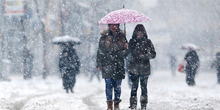 Kar geri geliyor! Meteoroloji il il uyardı
