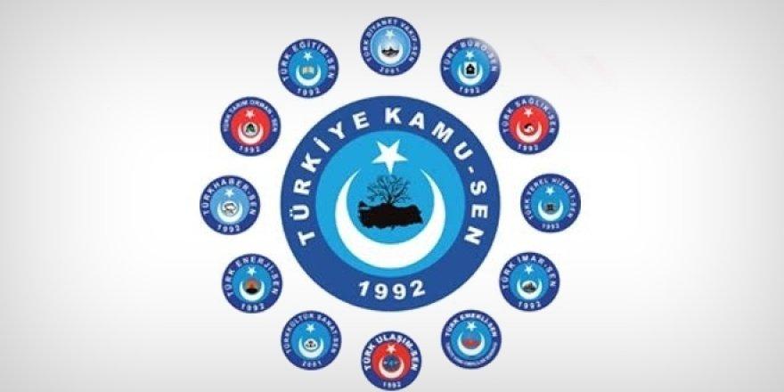 """Türkiye Kamu-Sen:""""İftiradan Medet Uman Sendikal Alçaklık"""""""