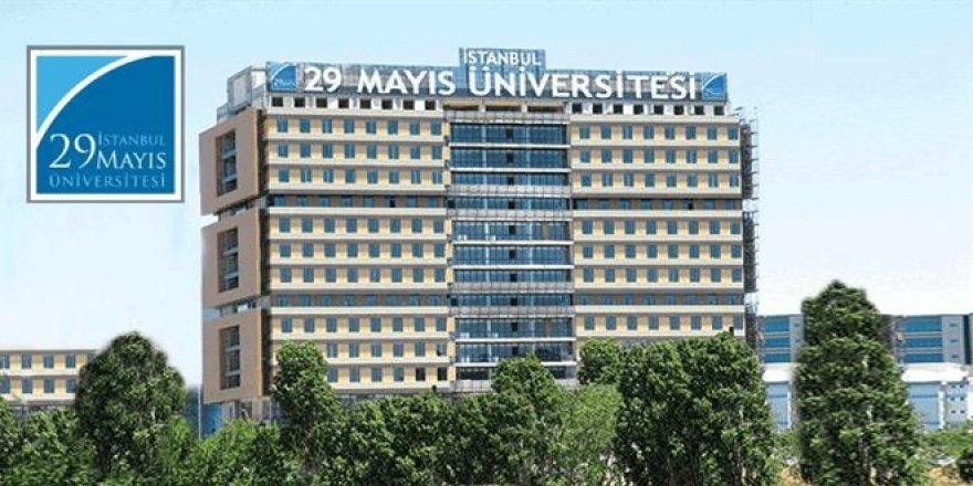 İstanbul 29 Mayıs Üniversitesi Öğretim Üyesi Alım İlanı