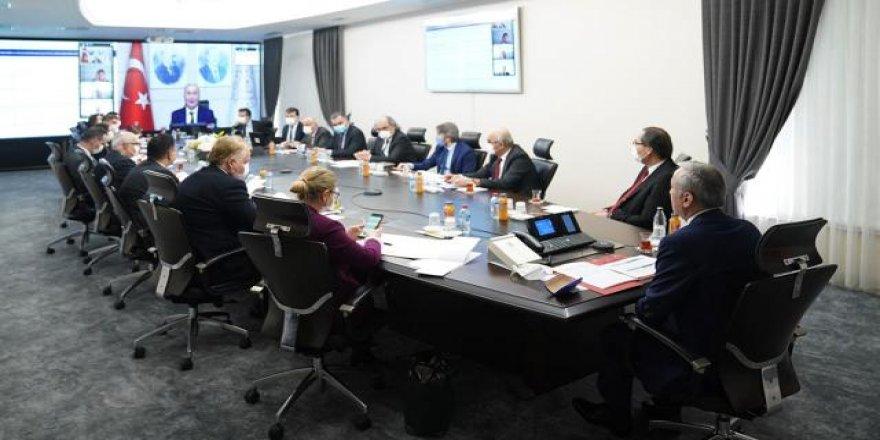 MEB ve UNICEF çevrim içi çalışma planı toplantısı yaptı