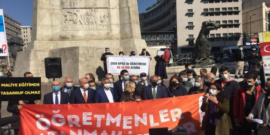 Türk Eğitim-Sen'den ataması yapılmayan öğretmenlere tam destek