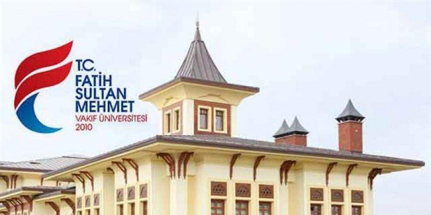 Fatih Sultan Mehmet Vakıf Üniversitesi Öğretim Üyesi Alım İlanı