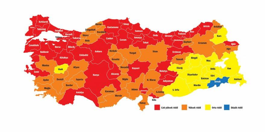 Türkiye'nin mavisi Şırnak kaldı