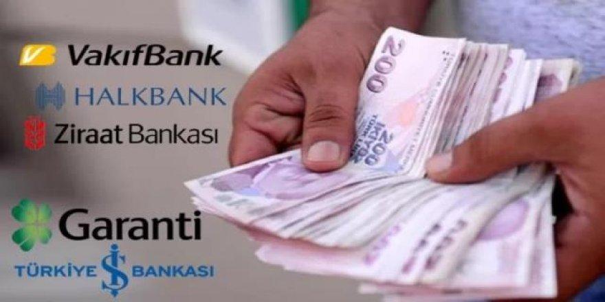 3 kamu bankası yeni kredi faizlerini açıkladı!
