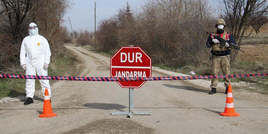 Üç ilde bazı yerleşim yerleri karantinaya alındı